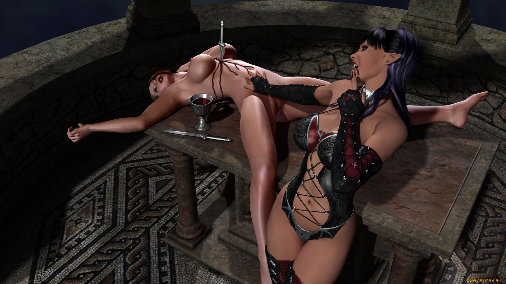 Девушка с ножом эротика фото — 3